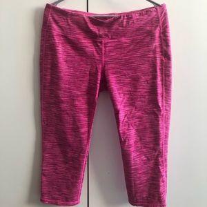 Pink Athleta capris